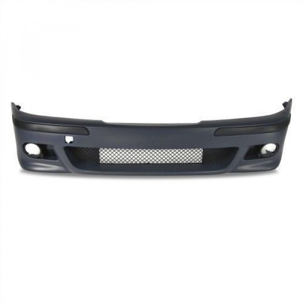 Front bumper m-tech style including strips and fog light inserts suitable for BMW 5-series E39