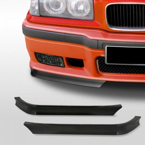 Spoilerlip for front bumper suitable for BMW 3er E36 year 1990 - 1998