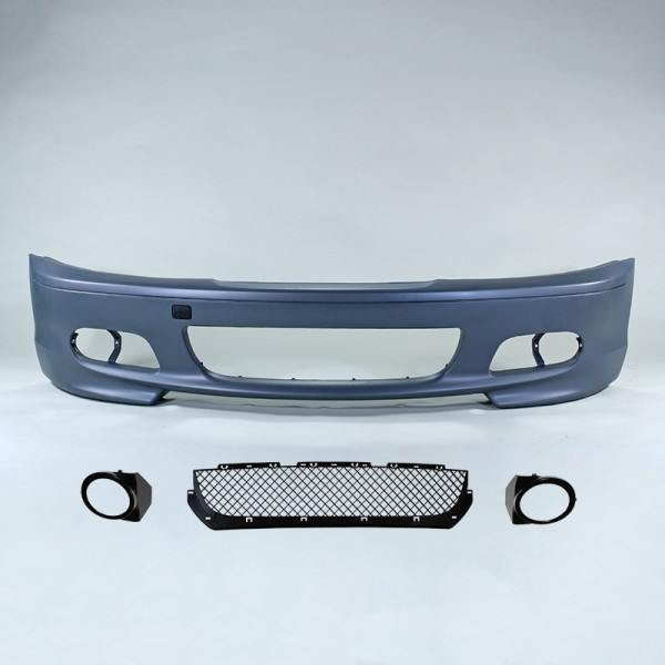 Front bumper in sports design suitable for BMW E46 Coupe and Cabrio 1999-2007