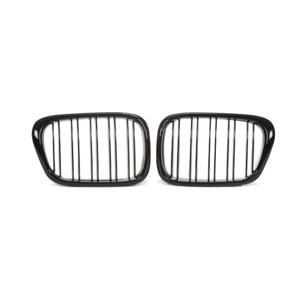 Kidney grill double slat black glossy suitable for BMW 5er E39 year1995-2003