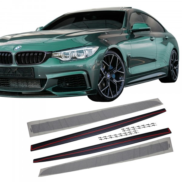 Side skirts suitable for BMW F32 / F33 / F36, 2011-2019