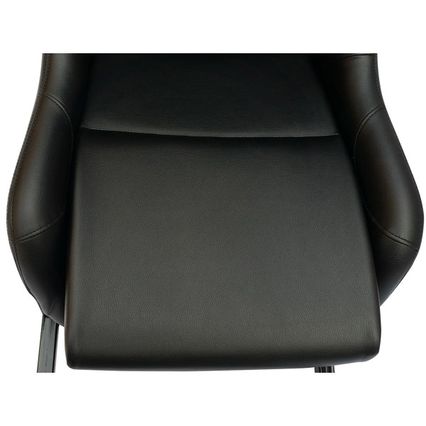 Game Seat for PC and game consoles imitation leather black black