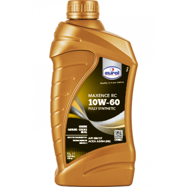 Oil 10W60 MAXENCE RC 1L