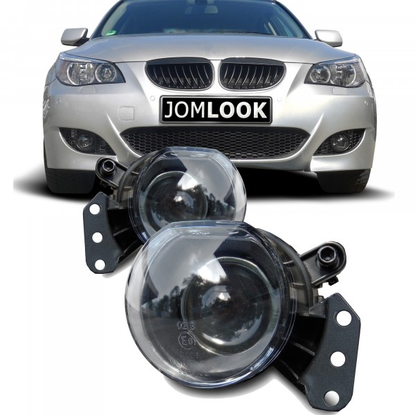 Fog lights clear with Projector lens suitable for BMW E60 Limousine and E61 Touring year 2003-2007