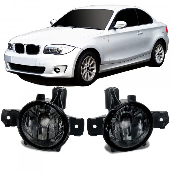 Fog lights smoke suitable for BMW 1 series E81, E82, E87, E88, X1 E84, X3 E83 and X5 E70