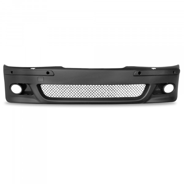 Front bumper incl. Ledges and grille with PDC holes and HCS suitable for BMW 5er E39 year 1996 - 2003