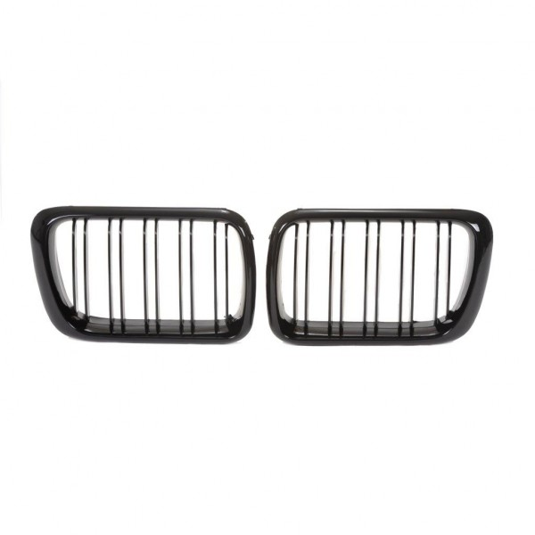 Kidney grill double slat black glossy suitable forBMW 3er E36 year 1996-1999