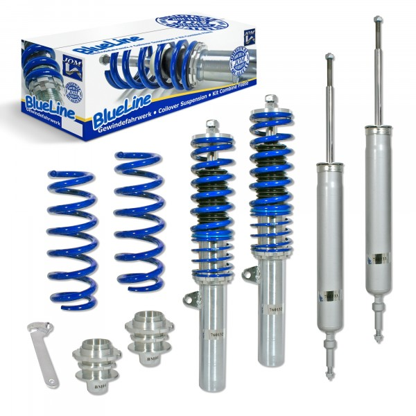 BlueLine Coilover Kit suitable for BMW 3er (E90, E91, E92, E93) year 2005-2008, except X-Drive- and M3-models