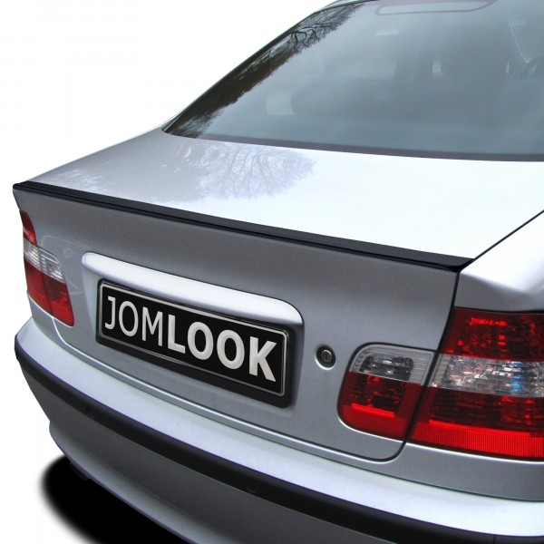 Boot spoiler slim style suitable for BMW 3er E46 Coupe year 1999 - 2006