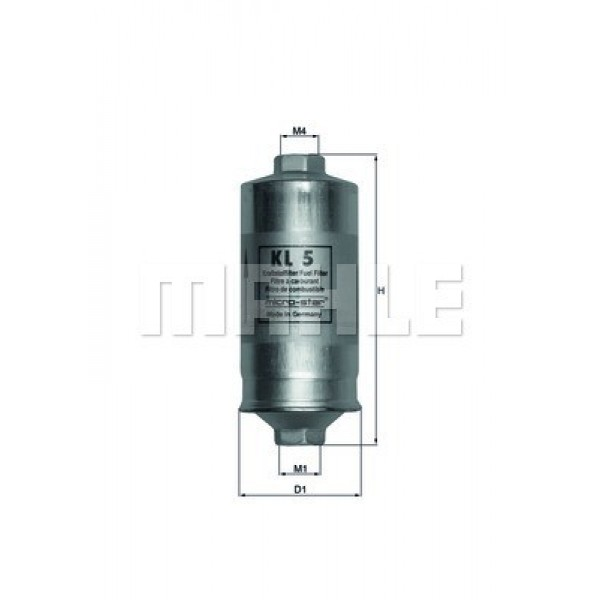 Fuel filter KNECHT KL 5 USE with BOSCH 044
