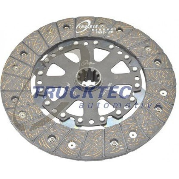 Clutch Disk BMW E30 E36 E34 E39 228mm TRUCKTEC AUTOMOTIVE 08.23.109